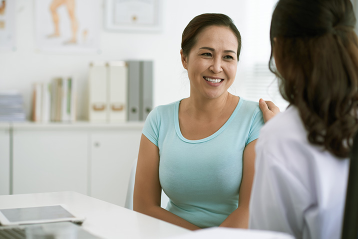 Gynaecologist Consultation