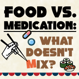 Food and medication combinations