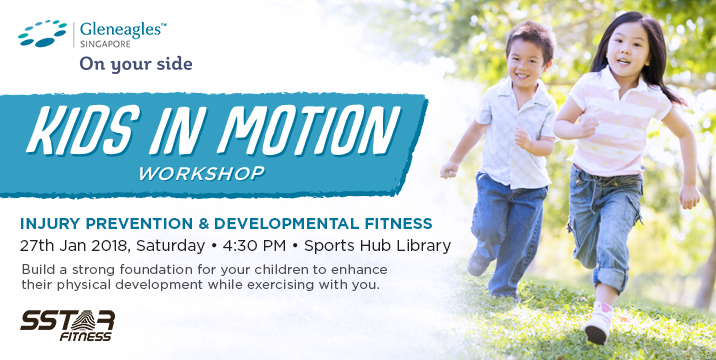 Gleneagles Kids in Motion workshop