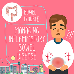 Managing irritable bowel disease