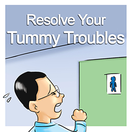 Resolve your tummy troubles